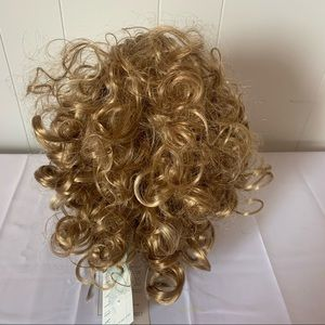 Paula Young Curly Combs Hair Extension - Blonde